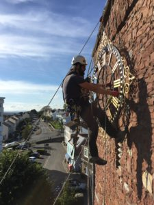 Teignmouth Church, St James Clock Restoration
