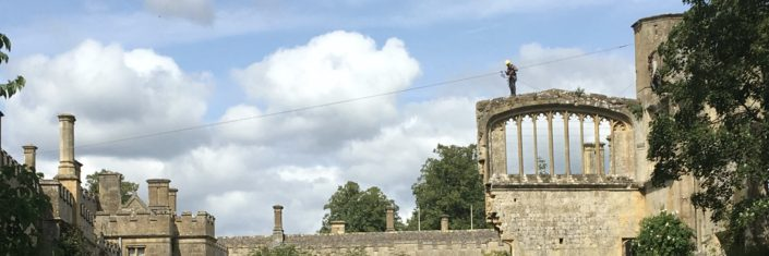 Repairing the Great Banqueting Hall Ruin