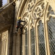 Masonry Repairs Exeter Cathedral