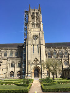 Masonry Repairs & Sheltercoat to Downside Abbey Tower