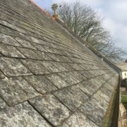 Re-slating of Lapford Church Chancel Roof