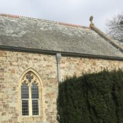 Lapford Church Re-slated Cancel Roof